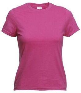 Damenshirt-Lady-Fit-Valueweight-T-Gr-XS-32-34-fuchsia