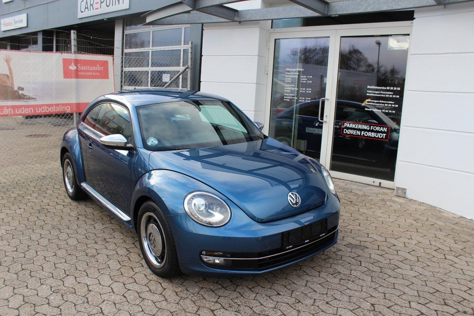 VW The Beetle 1,2 TSi 105 Life 2d - 204.800 kr.