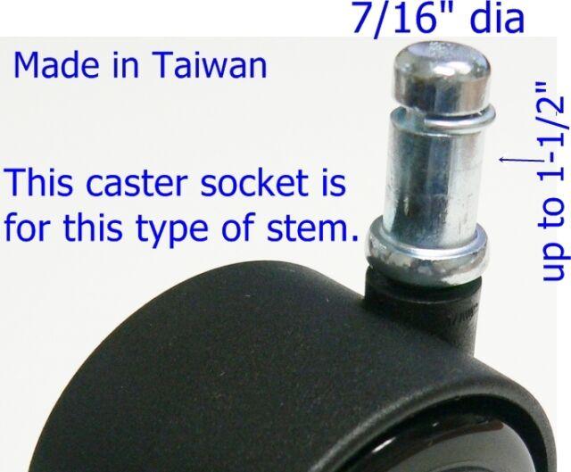 """1-1//4/"""" OD round tube 3//8/"""" 20 pcs Oajen metal threaded star type insert 16"""