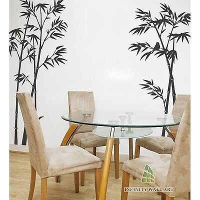 Stylish Bamboo & Birds Wall Decals,Wall stickers,Wall Decor Stickers -- PD122