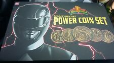 Mighty Morphin Power Rangers Legacy Die-Cast Power Coin Set BanDai Saban's