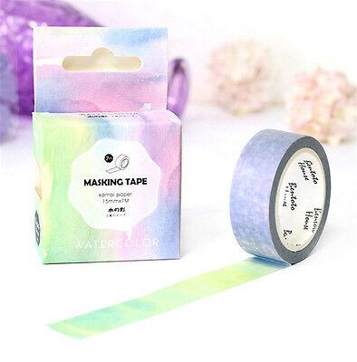 Design 15mm×7M DIY paper Sticky Adhesive Sticker Decorative Washi Tape L-77