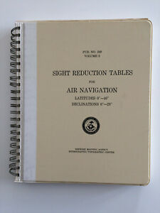 SIGHT-REDUCTION-TABLES-FOR-AIR-NAVIGATION-LATITUDES-0-40-volume-2-1978