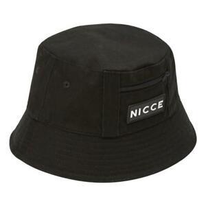 Nicce-Neuf-Homme-Vision-Seau-Chapeau-Noir-Neuf