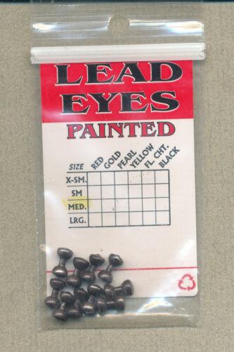 Lead Eyes Painted - metallic brown medium    EYLM0474 dumbell eyes