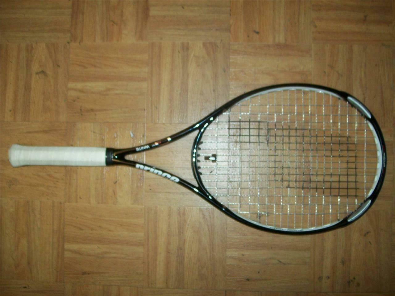 Prince O3 White 100 head 4 1 8 grip 10.6oz Tennis Racquet
