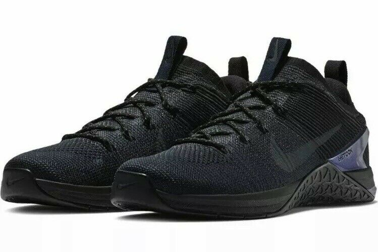 Nike Men's Sz 10.5 Metcon DSX Flyknit 2 AMP Cross Training shoes Navy AV3839-400