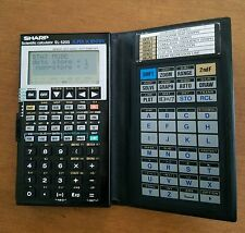 Collectible Sharp Super Scientific Calculator EL-5200 Vintage Working