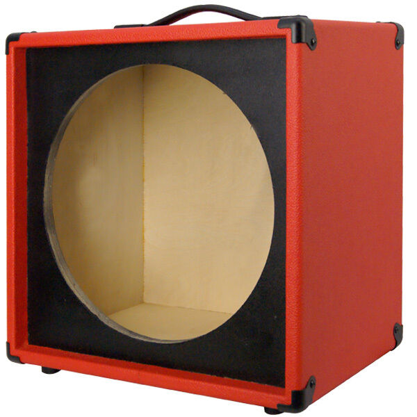 1x15 empty guitar speaker cabinet for 15 jbl e130 e140 fire red rh ebay com