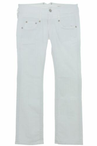 Magnifique Pitch Slim Fit Jeans STRETCHJEANS Blanc Low Waist Hüftjeans Femmes