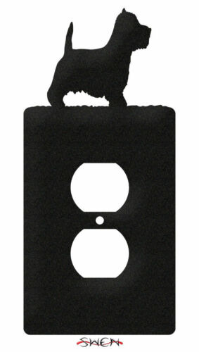 SWEN Products WESTIE TERRIER DOG Light Switch Plate Covers