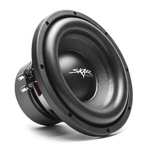 SKAR-AUDIO-SDR-10-D2-10-034-1200-WATT-MAX-POWER-DUAL-2-OHM-CAR-SUBWOOFER
