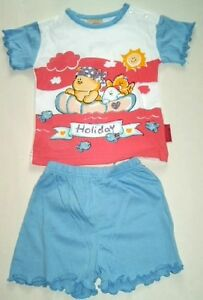 STEP-IN-BABY-SET-SHORTY-SET-SHORTY-KURZER-PYJAMA-MD1-GR-74-7-9-M-NEU