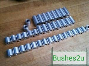 STAINLESS-STEEL-SPACERS-STANDOFFS-BUSH-ALL-DIAMETERS-amp-LENGTHS-amp-CLEARANCE-HOLES