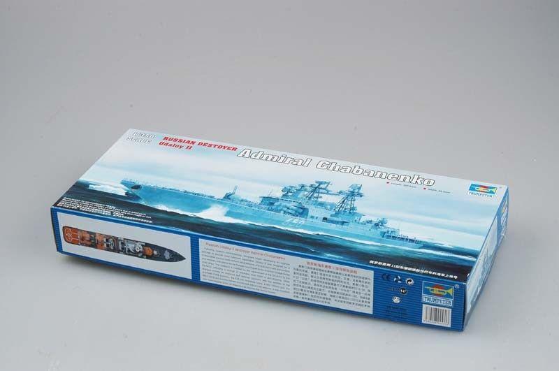 Russian Admiral Chabanenko Anti-submarine Destroyer Model Trumpeter 04531 1 350