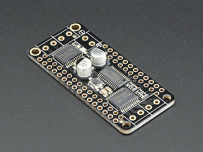 Adafruit DC Motor / Stepper FeatherWing Feather Boards Add on - Arduino IDE