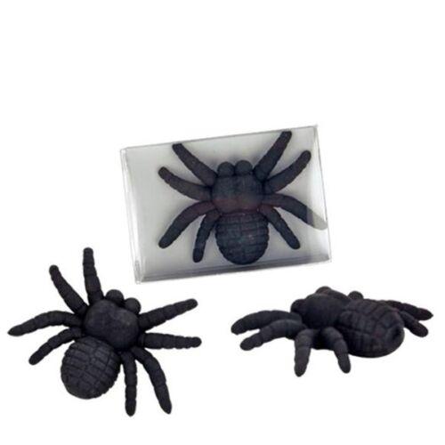 Spinnen Radierer schwarze Witwe 5cm x 4,3cm Radiergummi Spinne