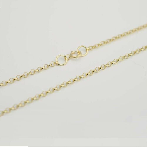 New Ladies Jewellery 30 inch Solid 9ct Yellow Gold Belcher Chain 4.1g RRP £200