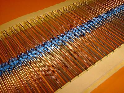 100x 2,2 Kohm Metallfilm Widerstand 1% Bauform 0204