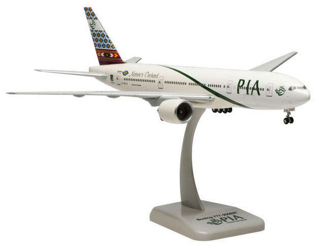 Pia-pakistan international airlines boeing 777-200er 1 200 Hogan 4814 modelo