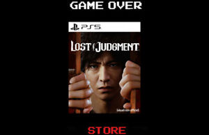 Lost Judgment Ps5 Playstation 5 Nuovo ITA Videogame Pre Order