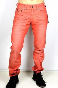 True-Religion-Men-039-s-Ricky-Straight-Corduroy-Brand-Jeans-MCB859NJD2-Size-31x34