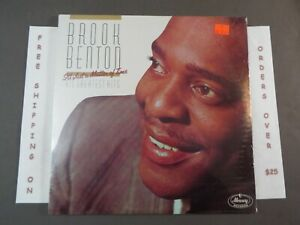 SEALED BROOK BENTON IT'S JUST A MATTER OF TIME GREATEST HITS LP 822 321-1 M-1
