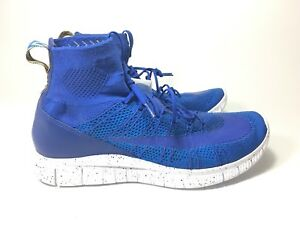 new style a51a3 e38f4 Image is loading Nike-Free-Flyknit-Mercurial-Game-Royal-Blue-805554-