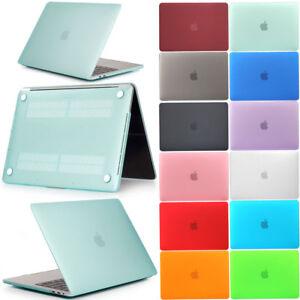 For-Macbook-Air-Pro-Retina-13-15-2016-2017-2018-Matt-Slim-Shockproof-Laptop-Case