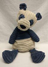 Jelly Cat London Cordy Roy Panda Bear Slate Blue Cream Stuffed Animal RARE EUC