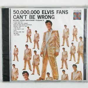 ELVIS-PRESLEY-50-000-000-Elvis-Fans-Can-039-t-Be-Wrong-CD-1986-ROCK-SEALED-UNPLAYED