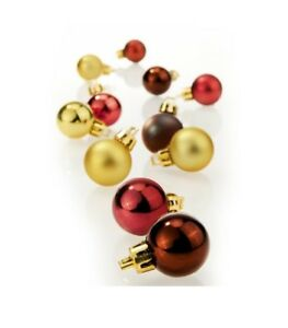 Set-16-piccole-addobbi-natalizi-palle-palline-albero-Natale-sfere-4-colori