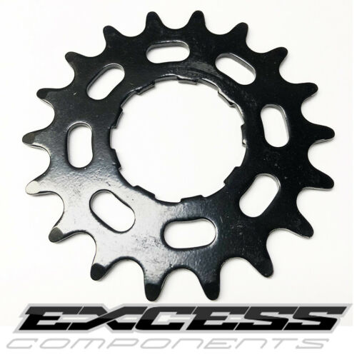 """Details about  /BMX Cog Single Speed by EXCESS Steel Cog 3//32/"""" Shimano Comp Black 18T"""