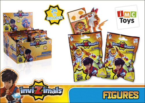 NEW 4 Pack INVIZIMALS blind bags 4x Action figures 4x Augmented Reality Cards