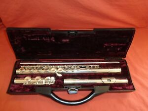 buffet crampon co paris cooper bc 6020 flute with hard case ebay rh ebay co uk buffet crampon flute 6000 series ii cooper scale buffet crampon flute serial numbers