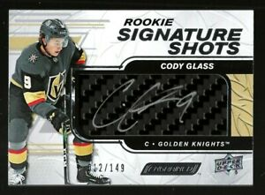 2019-20-Upper-Deck-Engrained-Rookie-Signature-Shots-Cody-Glass-149
