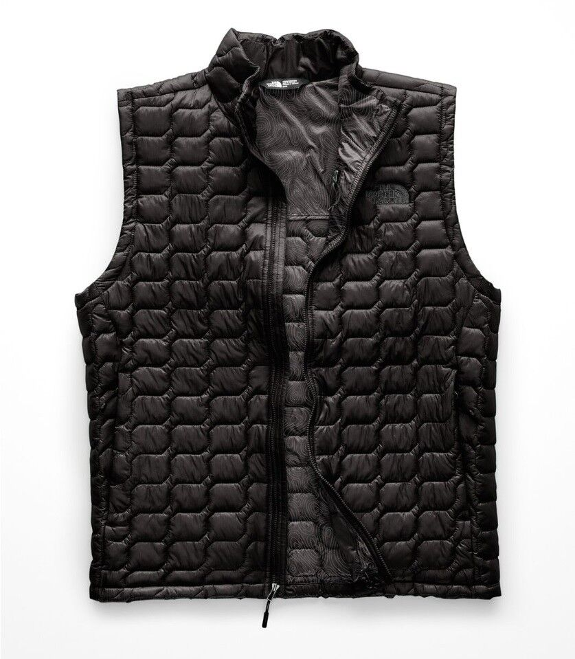 The North Face Herren Thermoball Weste Gilet Synethic Isoliert Weste SCHWARZ M