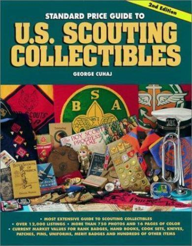 Scouting Collectibles Book h3 Cuhaj George S Standard Price Guide to U.S