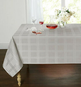 Plaid-amp-Tartan-Stain-Resistant-amp-Spill-Proof-Fabric-Tablecloth-Assorted-Colors