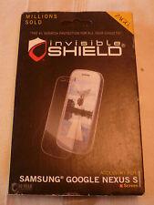 Zagg Invisibleshield Para Samsung Google Nexus S Pantalla (1st clase P + P)