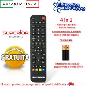 Telecomando Universale per ZEPHIR Compatibile per Tv Decoder Ricevitori Dvd