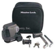 Master Lock 3794DAT Trailer Coupler Hitch Pin Lock Set