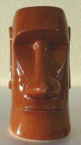 Vintage-Trader-Dicks-Easter-Island-Tiki-Mug-6-034-Tall-John-Ascuaga-039-s-Nugget