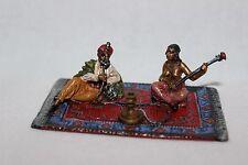 Original Wiener Bronze, Araber mit Frau auf Teppich