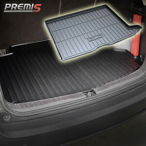 All weather car cargo rear trunk mat boot liner tray for for Mercedes benz glc 300 floor mats