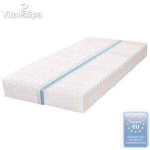 vitalispa 7 zonen kaltschaum matratze 140x200 cm h2 marken schaumkern 20 cm ebay. Black Bedroom Furniture Sets. Home Design Ideas