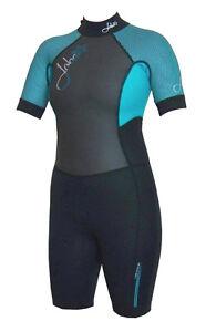 5f0a65308d Jobe Exceed Shorty C-Flex 2.5 2.0 Women s Wetsuit Sup KITE SURF Suit ...