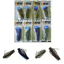 PACK UNCLE JOSH SIZMIC TOADS TOPWATER FISHING LURE in WATERMELON SEED-BASS 6