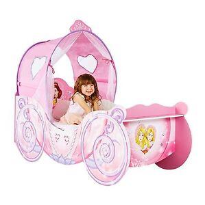 Das Bild Wird Geladen Disney Prinzessin Schlitten Eigenschaft Kleinkind Bett  Mit Schutz  Amazing Ideas