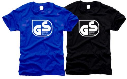 GS sécurité Contrôlée-Messieurs-T-shirt Taille S à XXL